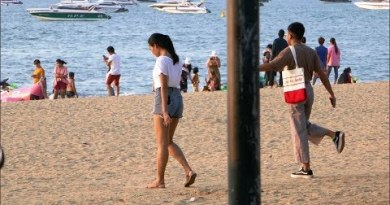 Pattaya Beach Existence and Visitors Collapse October 2019