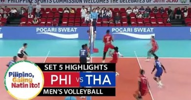Philippines vs. Thailand – December 8, 2019 | Men's Volleyball | Set 5 Highlights | 2019 SEA Games