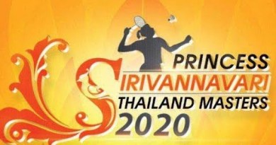 Live Rankings SF Badminton PRINCESS SIRIVANNAVARI THAILAND MASTERS 2020 HSBC BWF WT SUPER 300