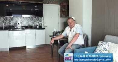 Acheter un appartement à Pattaya, 800 m de la plage de Jomtien. Location d'appartement à Pattaya