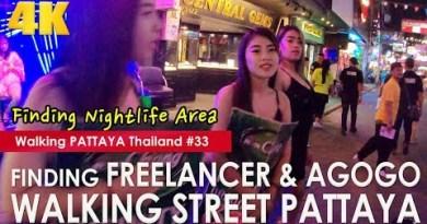 Discovering Freelancers & AGOGO on Pattaya Walking Avenue at Evening – Walking Pattaya #33 Corpulent Version