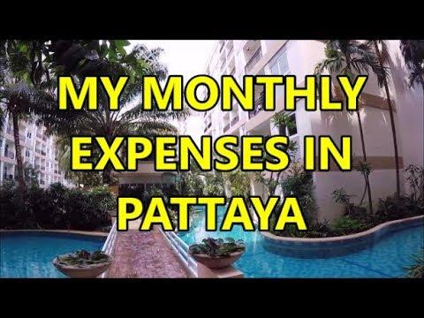 My Contemporary Residing Expenses in Pattaya, Thailand 2019