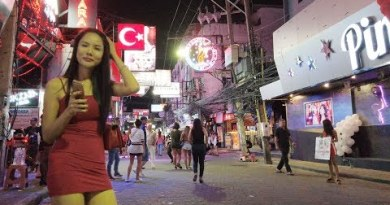 2019 Pattaya Walking Avenue At 2 AM