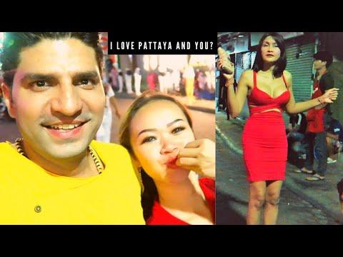 Why Indians plug to Pattaya | Pattaya Walking Avenue Nightlife in 2019 | Guru Anjana