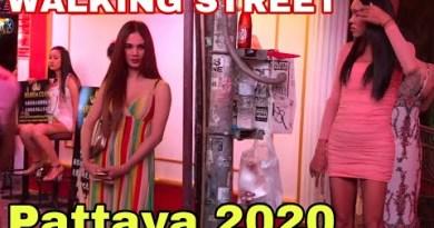 Pattaya 2020 – Strolling avenue action