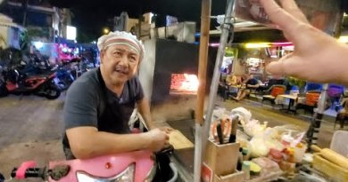 🇹🇭 $6 THAI Aspect road Food PIZZA by WOODFIRE OVEN on Bike | PATTAYA THAILAND