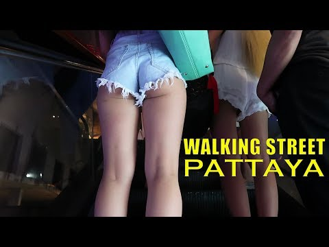 Walking Avenue, Pattaya, Thailand – Any Fresh Changes?