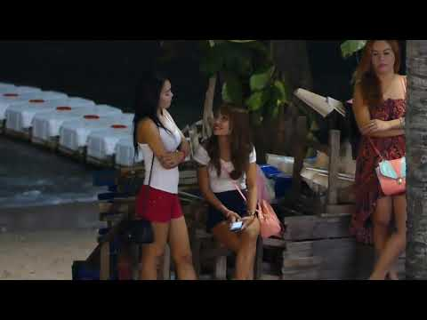 Sea bolt Avenue Pattaya Thai Girls at Night time