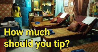 How significant function prospects tip a masseuse in Pattaya, Thailand?