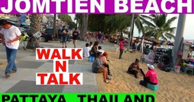 JOMTIEN DAY TIME BEACH WALK N TALK PATTAYA THAILAND