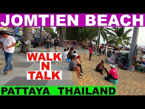 JOMTIEN DAY TIME BEACH WALK N TALK PATTAYA THAILAND