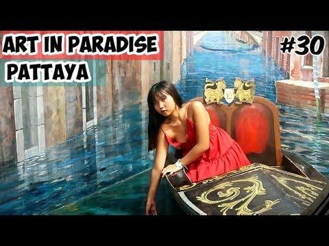 Art work In Paradise With Thai Female friend in Pattaya | Pattaya Thailand 2019 Vlog | Ketan Singh Vlogs #30