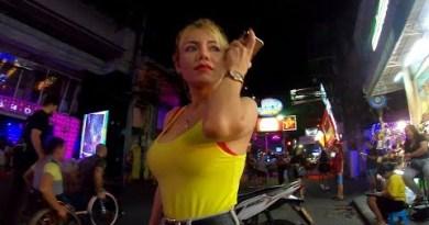 VLOG 35 Day and Night in Pattaya, Walking Dual carriageway Nightlife 2020