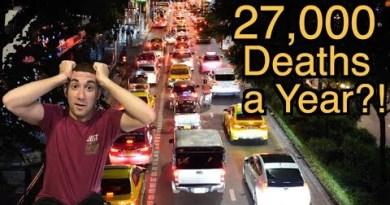 27,000 Deaths a Year?! (Bangkok's Traffic Subject)