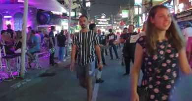 Phuket Evening Existence, Bangla Avenue   Pattaya Evening Existence, Walking Avenue   Thailand 2019