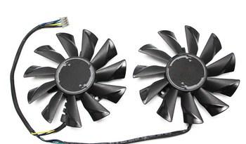85mm PLD09210S12HH 4Pin GTX 1060 6G Cooler Fan Replace For MSI GeForce GTX 950 2GD5T OC GTX 1060 1070 1080 RX 470/570/480 ARMOR