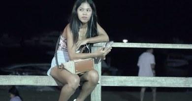 4K Extremely HD. Thailand Sea glide Boulevard Pattaya Freelancers