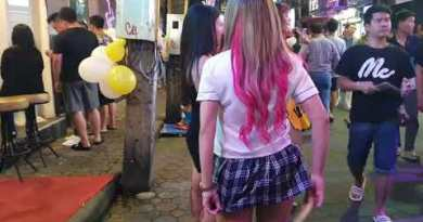 Pattaya Nightlife – Strolling Avenue October 2019