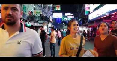 PATTAYA WALKING STREET MIDNIGHT