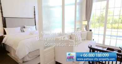 Beachfront condo for sale in Pattaya. Colossal Florida Beachfront