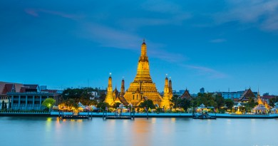 United / All Nippon Airways: Newark – Bangkok, Thailand. $519. Roundtrip, including all Taxes