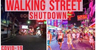 Pattaya Strolling Aspect twin carriageway Sooner than and After NIGHTLIFE SHUTDOWN | Thailand Crimson Light district