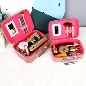 Cosmetic Bag Large Capacity Multi-functional Simple Portable Small Cosmetics Box Hand South Korea Cute Online Celebrity Storage