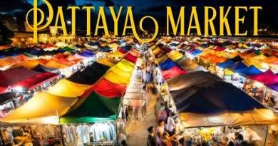 Thepprasit Night Market Pattaya Thailand