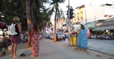 Gradual Afternoon Pattaya Coastline Road – Feb 2020