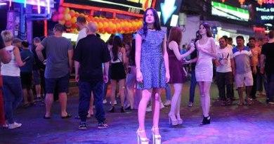 Pattaya So many Russian Ladies on Strolling Dual carriageway
