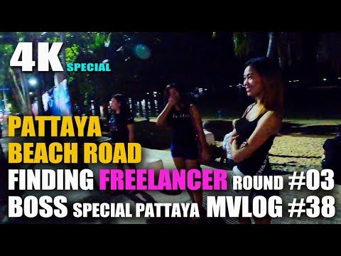 Looking at Freelancer on Pattaya Beach Road Round #03-BOSS Special PATTAYA MVLOG #38