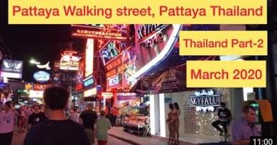 Pattaya Walking Street, Thailand, March2020
