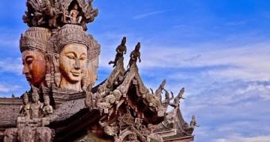 "Visiting ""Sanctuary of Reality"" Temple ~ Pattaya Thailand 4K"