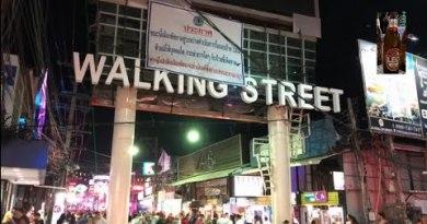 Pattaya Strolling Boulevard Sooner than Corona Virus 2020