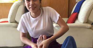 Thai Foot Rub down in Pattaya, Thailand handiest $ 5 Phase 1