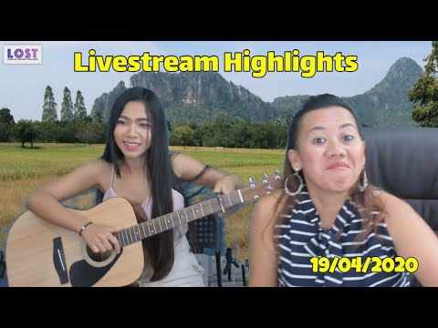 Highlights from Thailand Livestream Sunday Nineteenth April for fun.