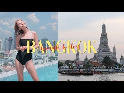 BANGKOK TRAVEL VLOG: First Time in Thailand 🇹🇭