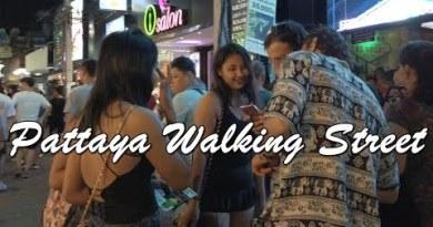 (4K) Pattaya Walking Street – Thailand Nightlife(Vlog #088)