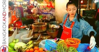 Thailand Avenue Food Evening Market – Jomtien Shoreline Pattaya
