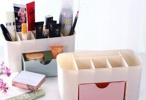 Cosmetic Storage Box Lipstick Jewelry Storage Box Sundries Box Cosmetic Box Desktop Drawer Storage Box