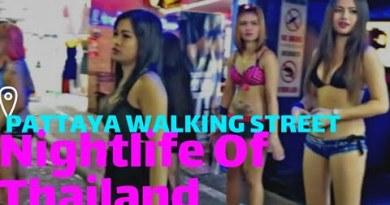 Pattaya Nightlife Thailand  Day-3 Strolling Streeet Pattaya  Pattaya Red Gentle Plan  Ajit Samanta
