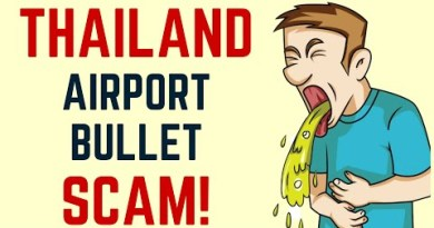 Thailand Airport Bullet Scam Two US Males Arrested