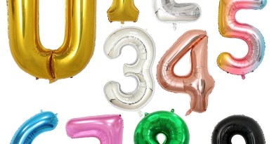 32 inch Foil Balloons Air Helium Number Balloon Figures Happy Birthday Party Decorations Kid Baloons Birthday Balon