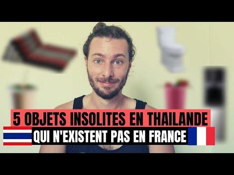 5 TRUCS COOL EN THAILANDE QUI N'EXISTENT PAS EN FRANCE
