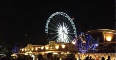 """Asiatique Sky"" Ferris Wheel in Thailand @ Asiatique The Riverfront, Bangkok, Thailand"