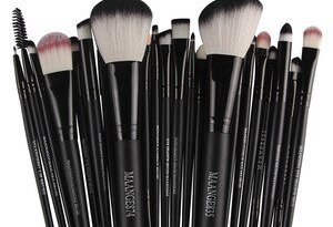 Cosmetic Makeup Brush 22pcs Cosmetic Makeup Brush Blusher Eye Shadow Brushes Set Kit F19#35