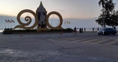 Pattaya sea traipse road 19 april 2020