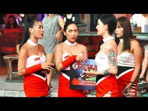 Pattaya Nightlife, Walking Boulevard. Thailand, Vlog#10