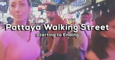 Pattaya Walking Avenue (Starting to Ending)