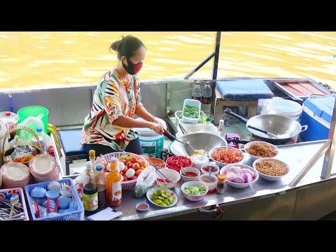 Thailand Avenue Meals Amphawa Floating Market